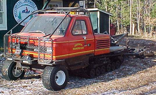 Maine snowmobile trail groomer for sale - ASV Trac Truck Model 825 in Dexter, Maine