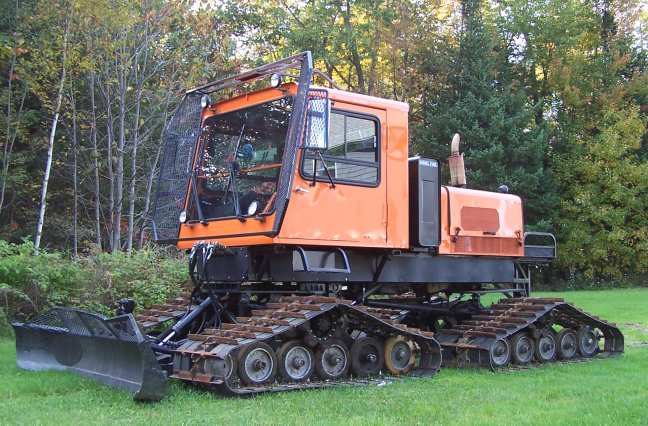 Snowmobile trail groomer for sale in Maine - Tucker Sno-Cat