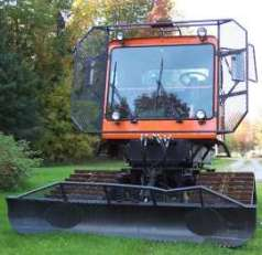 Snowmobile trail groomer tucker sno cat exterior photos and info