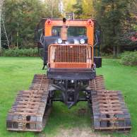 Tucker Sno-Cat snowmobile trail groomer