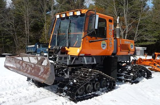 Snowmobile trail groomer for sale - Tucker Snocat Model 2000