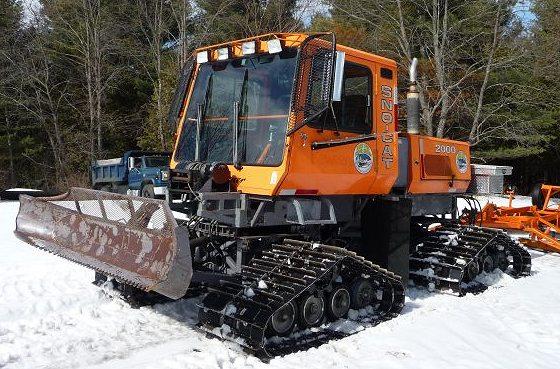 Snowmobile trail groomer for sale - Tucker Snocat Model 2000
