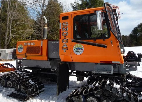 Tucker snocat snowmobile trail groomer